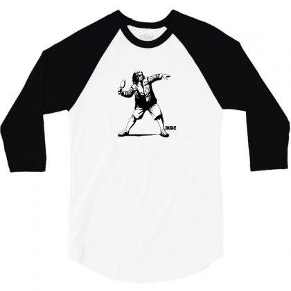 Dude 3/4 Sleeve Shirt Designed By B4en1