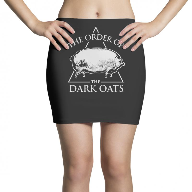 Earlier Version Of The Order Of The Dark Oats Pig Brother Mini Skirts | Artistshot