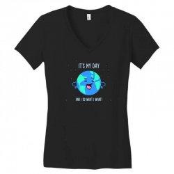 earth day Women's V-Neck T-Shirt | Artistshot