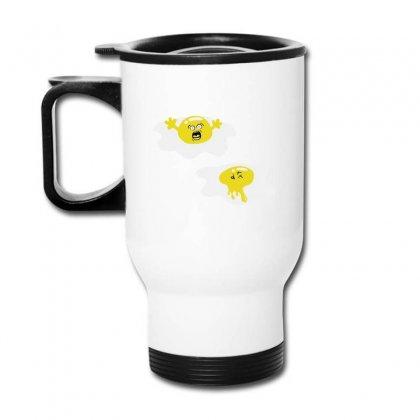 Egg Murder Travel Mug Designed By B4en1