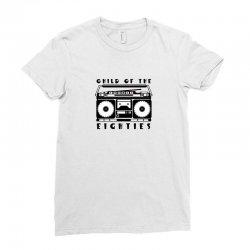 eighties music Ladies Fitted T-Shirt   Artistshot