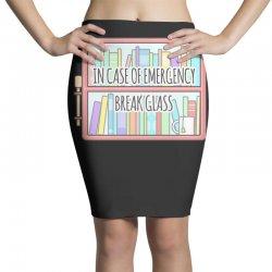 emergency bookshelf Pencil Skirts | Artistshot