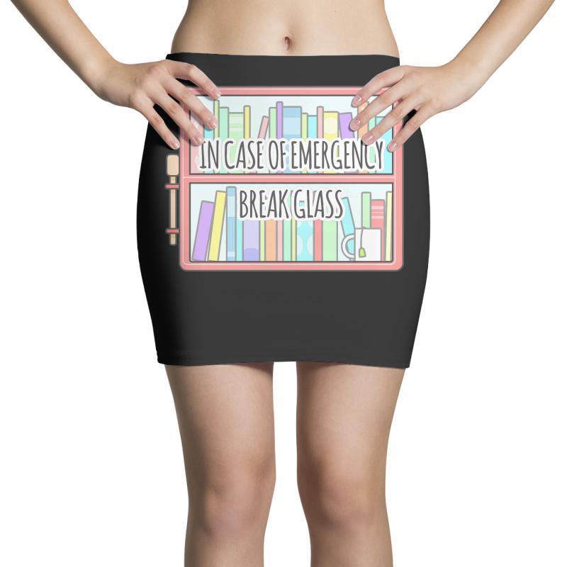 Emergency Bookshelf Mini Skirts | Artistshot