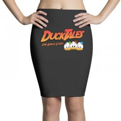 emojitales the duck story Pencil Skirts | Artistshot