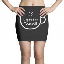 espresso yourself coffee pun Mini Skirts | Artistshot