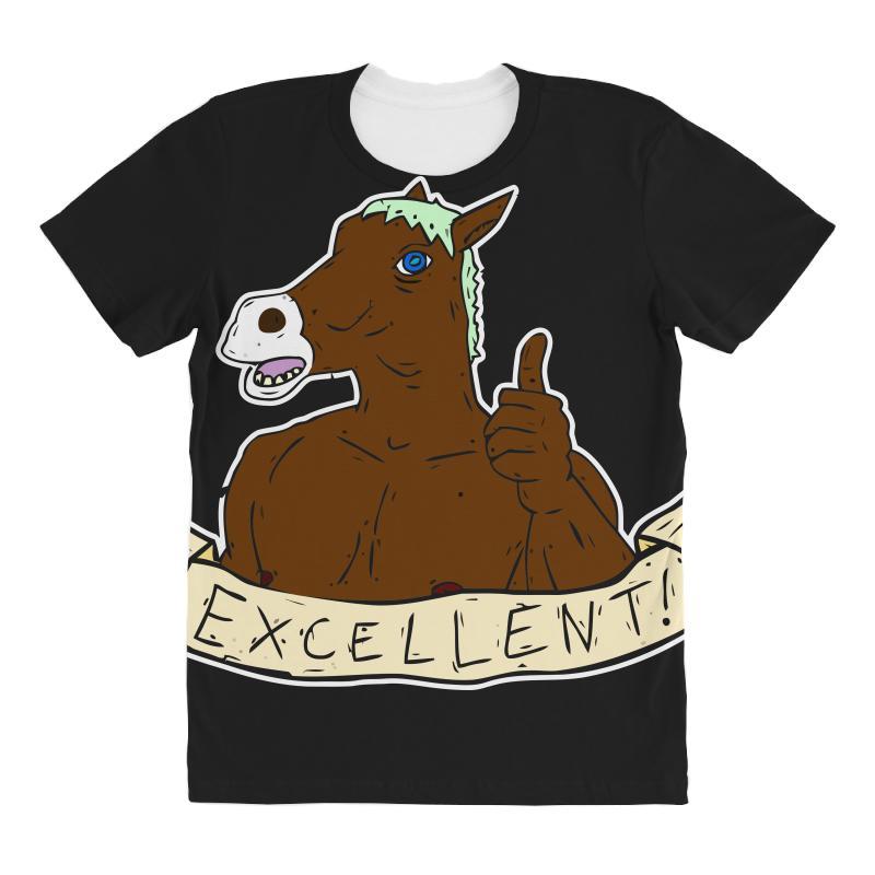 Excellent Horse All Over Women's T-shirt | Artistshot