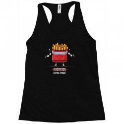 exercise extra fries Racerback Tank | Artistshot