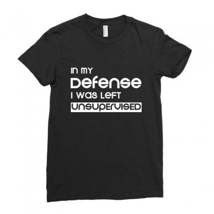 Defense Ladies Fitted T-shirt Designed By Sr88