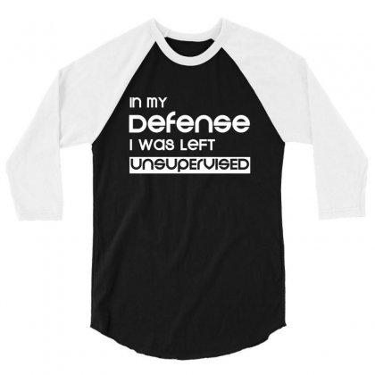 Defense 3/4 Sleeve Shirt Designed By Sr88