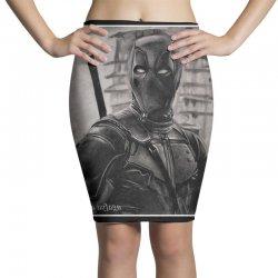Ninja Spider Pencil Skirts | Artistshot