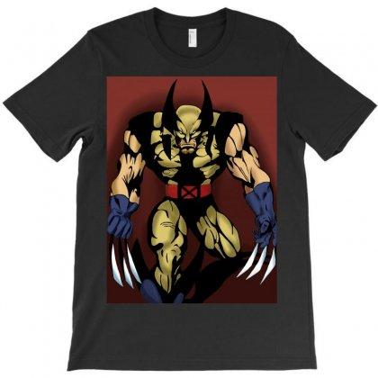 Wolverine T-shirt Designed By Shoka