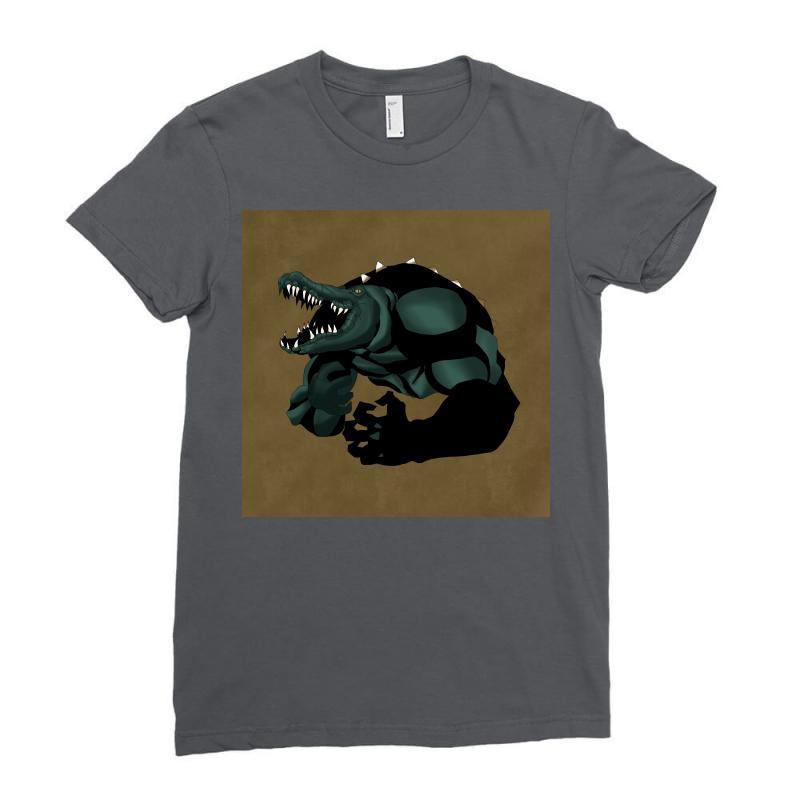 Killercrok Ladies Fitted T-shirt   Artistshot