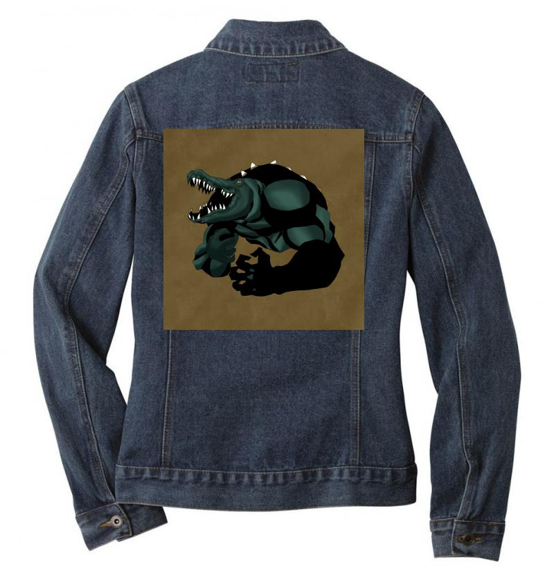 Killercrok Ladies Denim Jacket | Artistshot