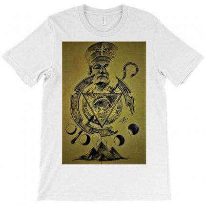 Pyramid Triangle Eye T-shirt Designed By Trendy Boy