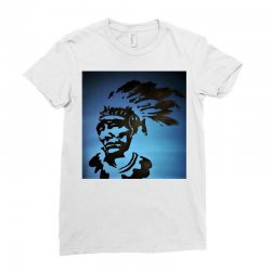 Red Indian Leaders Ladies Fitted T-Shirt | Artistshot