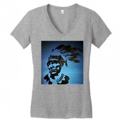 Red Indian Leaders Women's V-Neck T-Shirt | Artistshot
