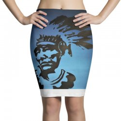 Red Indian Leaders Pencil Skirts | Artistshot
