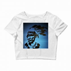 Red Indian Leaders Crop Top | Artistshot