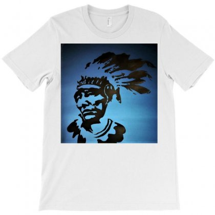 Red Indian Leaders T-shirt Designed By Trendy Boy