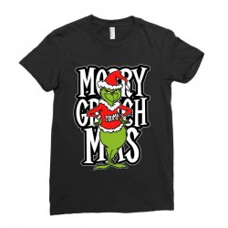 Merry Grinch Mas Trump Ladies Fitted T-Shirt | Artistshot