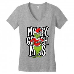 Merry Grinch Mas Trump Women's V-Neck T-Shirt | Artistshot