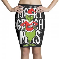 Merry Grinch Mas Trump Pencil Skirts | Artistshot