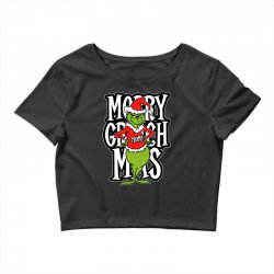 Merry Grinch Mas Trump Crop Top | Artistshot