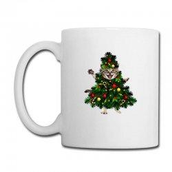 Christmas Tree Cat Coffee Mug Designed By Neset