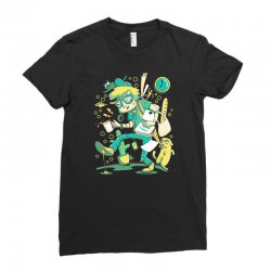 time to work Ladies Fitted T-Shirt   Artistshot