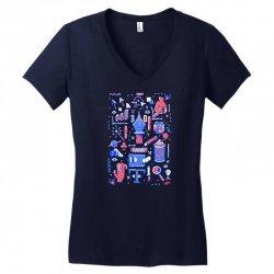 time zone Women's V-Neck T-Shirt | Artistshot