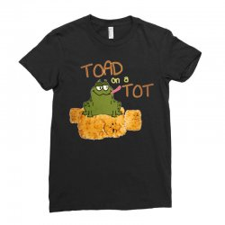 toad on a tot Ladies Fitted T-Shirt | Artistshot