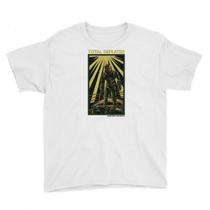 Total Defeated Youth Tee Designed By Daudart