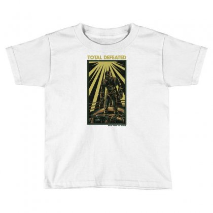 Total Defeated Toddler T-shirt Designed By Daudart