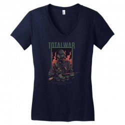 total war Women's V-Neck T-Shirt | Artistshot