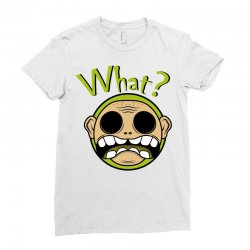 What? - Zombie Ladies Fitted T-Shirt | Artistshot