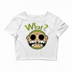 What? - Zombie Crop Top | Artistshot