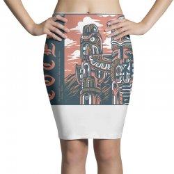 totem syndicate light Pencil Skirts | Artistshot