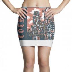 totem syndicate light Mini Skirts | Artistshot