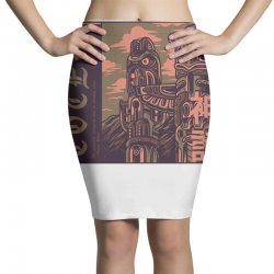 totem syndicate Pencil Skirts | Artistshot