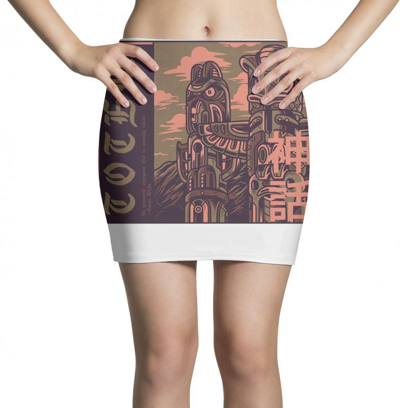 Totem Syndicate Mini Skirts | Artistshot