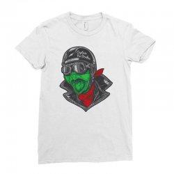 turtle biker Ladies Fitted T-Shirt | Artistshot