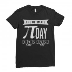 ultimate pi day Ladies Fitted T-Shirt | Artistshot