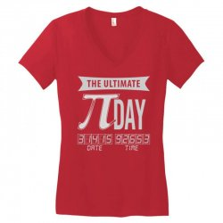 ultimate pi day Women's V-Neck T-Shirt | Artistshot