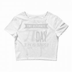 ultimate pi day Crop Top | Artistshot