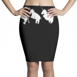 unicorn devolution Pencil Skirts | Artistshot