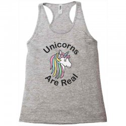 unicorns are real Racerback Tank | Artistshot