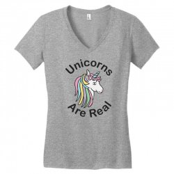 unicorns are real Women's V-Neck T-Shirt | Artistshot