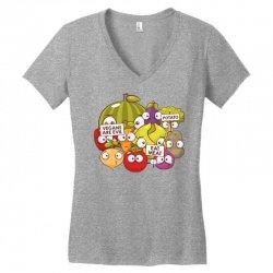 vegans are evil Women's V-Neck T-Shirt | Artistshot