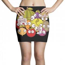 vegans are evil Mini Skirts | Artistshot