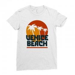venice beach Ladies Fitted T-Shirt | Artistshot